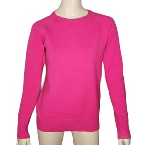 French Connection Hot Pink Raglan Sleeve Sweater